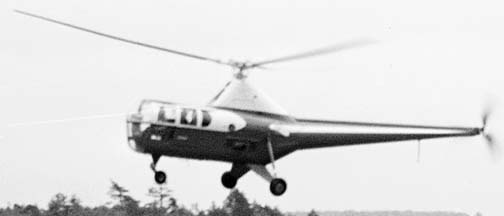 Sikorsky S-51 helicopter, GEARL, June 22, 1946