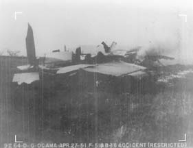 Wings of B-36D 49-2658