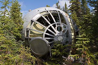 B-36H, 51-5729 wreckage in Labrador