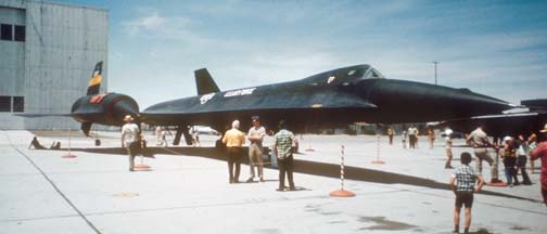 YF-12A, 60-6935 at Edwards AFB, May 19, 1970