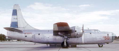 P4Y-2, N7237C c50 at Marana Air Park on February 11, 1972
