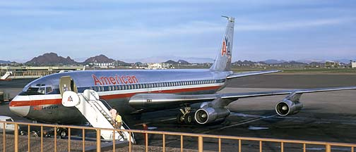 American Airlines 707-123B, Phoenix, May 11, 1973