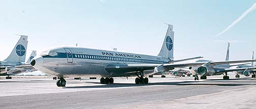 Pan Am 707-139B N778PA, Marana Airpark, November 12, 1973