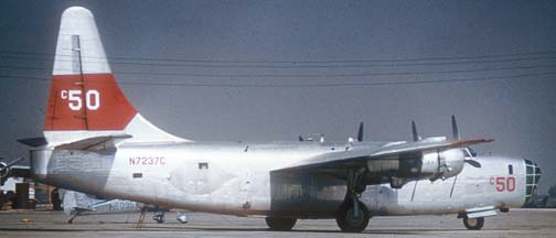P4Y-2, N7237C c50 at Tuscon on November 12, 1973