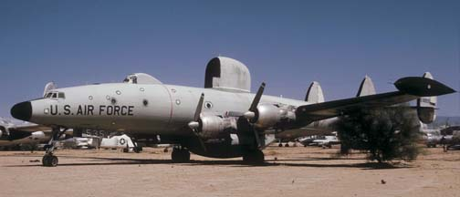 EC-121H, 53-0535 at the Pima County Air Museum on March 31, 1974