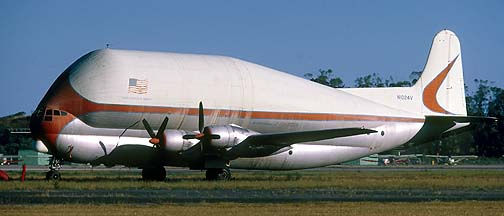 Super Guppy N940NA, Edwards Air Force Base, October 23, 1982