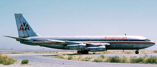 American Airlines 707-123B N7503A, San Francisco, August 6, 1974