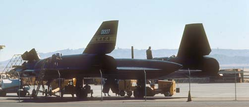 YF-12C, 60-6937 at Edwards AFB, October 12, 1977