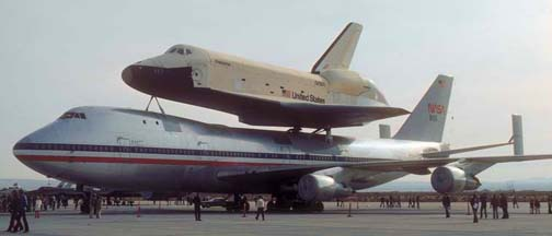 OV-101, Enterprise and 747-SCA, November 13, 1977