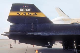YF-12A, 60-6935 at Edwards AFB, November 13, 1977