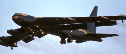 Boeing B-52 Stratofortresses dislays