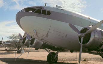 Boeing 307 N19903 at the Pima Air Museum, Arizona on December 18, 1979