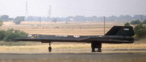 SR-71A, 61-7974 at Beale AFB, May 1980