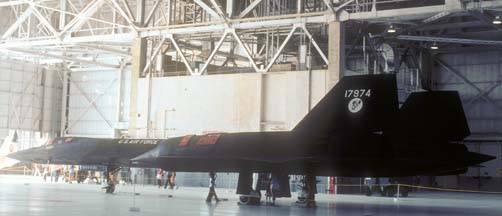 SR-71A, 61-7974 at Edwards AFB, October 5, 1980