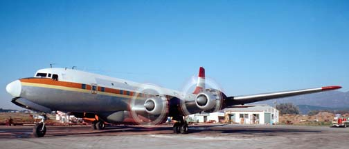 Douglas DC-6 and DC-7 Tankers