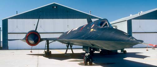 SR-71A 61-7971 at Beale AFB, October 1981