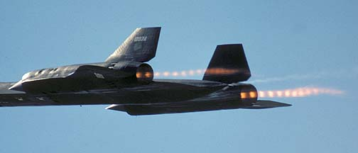 SR-71A 61-7974 at Beale AFB, October 1981