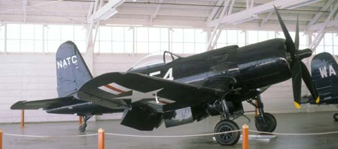 F2G-1 BuNo 88454 N4324, Champlin Fighter Museum, December 31, 1981