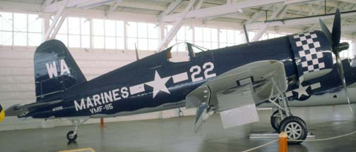 FG-1D N700G, Champlin Fighter Museum, December 31, 1981