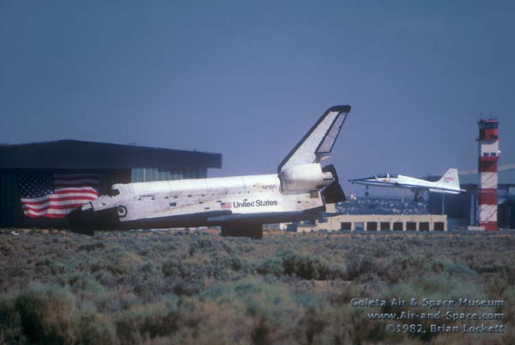 space shuttle landing july 4 1982 - photo #3