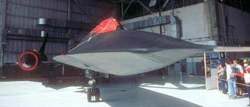 SR-71A, 61-7955 at Edwards AFB, October 30, 1983
