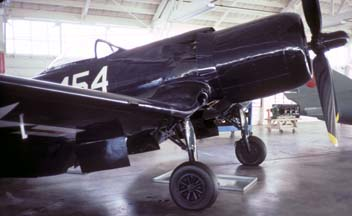 F2G-1 BuNo 88454 N4324, Champlin Fighter Museum, March 25, 1985