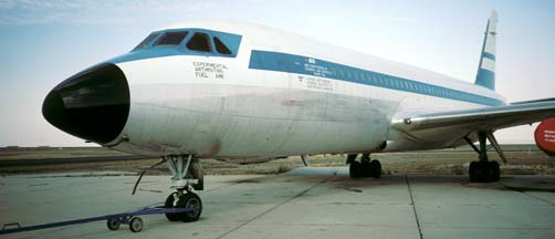 Anti-Misting Fuel Test Convair 880, N5863 at Mojave, California on May 9, 1985