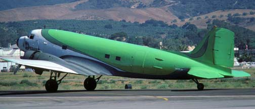 Douglas DC-2 and DC-3 History:  1970s - 1980s