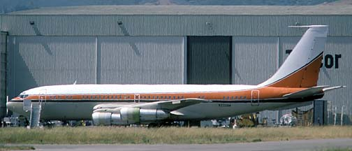 Airmark Corporation 707-138B N220AM, Santa Barbara, June 1986