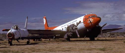 Naval Arctic Research Laboratory R4D-8L, Naval Air Weapons Station China Lake, April 16, 1988