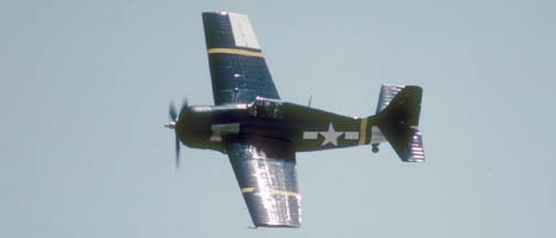 General Motors manufactured FM-2 Wildcat, N5833 at El Toro MCAAS on April 29, 1989