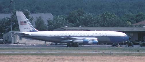 Boeing VC-137B 58-6972, Rhein-Mein Air Force Base, June 21, 1989