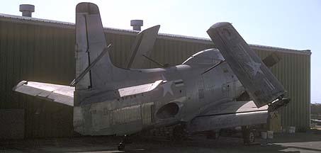 Douglas A2D Skyshark, Chino Airport on September 5, 1992