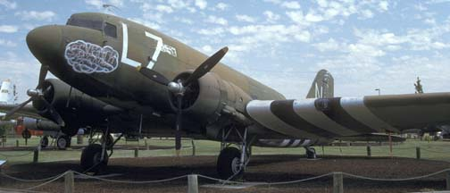 C-47A 43-15977, Castle Air Force Base Museum, September 17, 1992