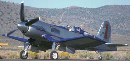 F4U Super Corsair N31518, Reno Air Races, September 20, 1992