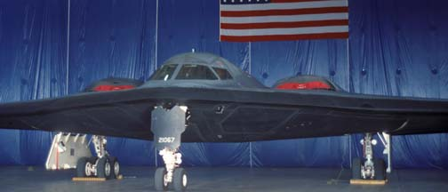 Northrop-Grumman B-2A Spirit photos from 1992 to 1997