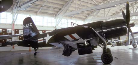 F2G-1 BuNo 88454 N4324, Champlin Fighter Museum, November 29, 1992