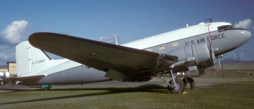 C-47A-30 42-23668, Edward F. Beale Museum, Beale Air Force Base, January 22, 1993