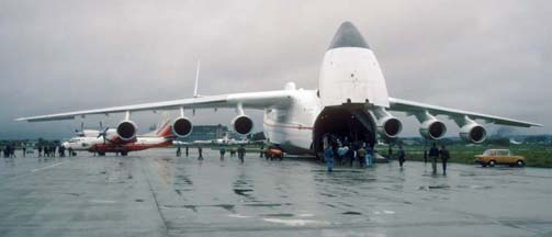 Antonov An-225 Mriya at Zhukovsky, September 3, 1993