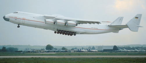 Antonov An-225 Mriya at Zhukovsky, September 5, 1993