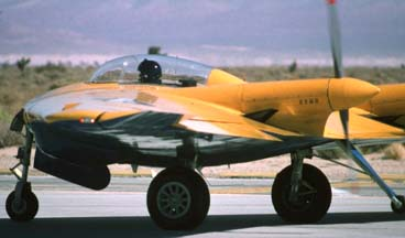 Northrop N9MB Flying Wing, N9MB at Edwards AFB on October 21, 1995