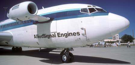 720-051B Allied Signal TFE731-40 Engine Testbed N720GT, Williams-Gateway Airport, Arizona, March 31, 1996