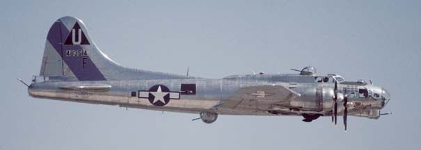 B-17G, N9323Z Sentimental Journey at Phoenix 500 Airshow on March 31, 1996