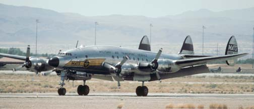 C-121A, N494TW takes off at the Nellis AFB Golden Air Tattoo on April 26, 1997