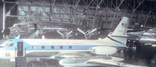 VC-121E, 53-7885 Columbine III at the Air Force Museum on August 16, 1998