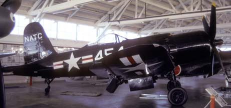 F2G-1 BuNo 88454 N4324, Champlin Fighter Museum, September 30, 1999
