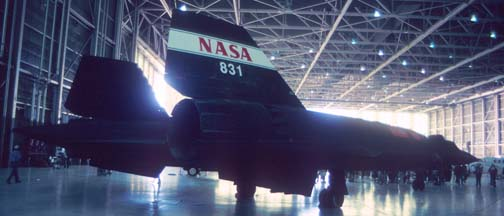 NASA's SR-71B, N831NA at Edwards AFB, October 9, 1999