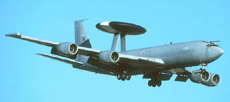 Royal Air Force Boeing E-3D Sentry AWACS
