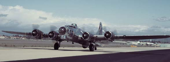B-17G, N9323Z Sentimental Journey at Camarillo, CA on May 16, 2000