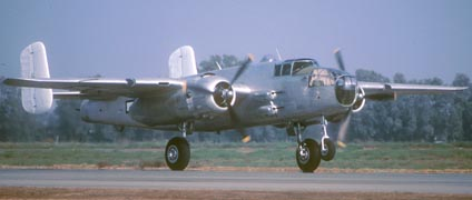 "North American B-25J, ""Photo Fanny"" N3675G"